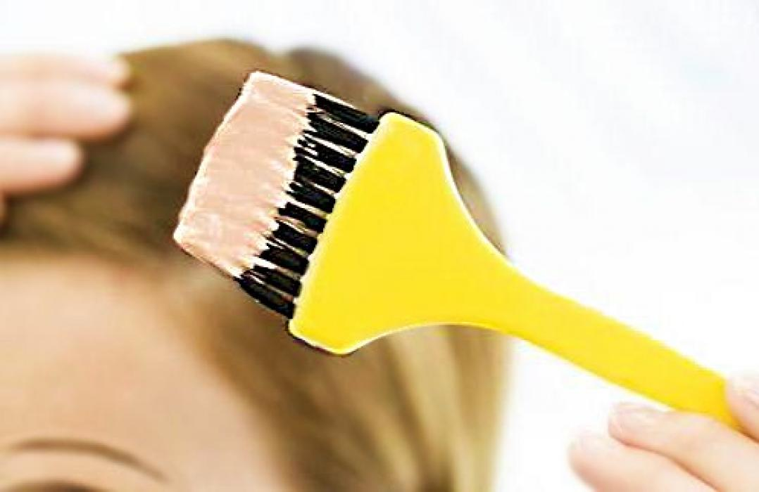 Смешивание краска волос в домашних условиях